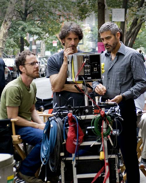 The Coens with George Clooney