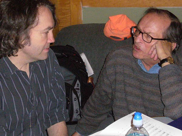 Sidney Lumet counsels exhausted composer