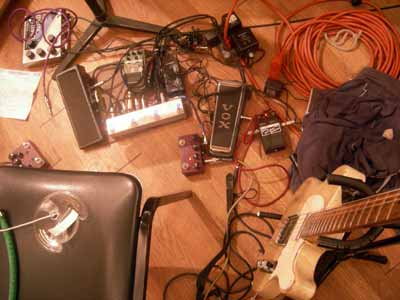 Marc Ribot pedals